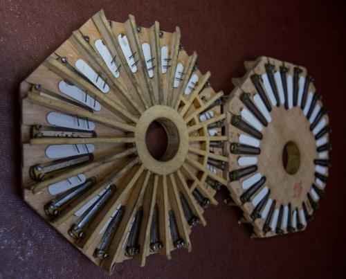 Concertina Reed Pans